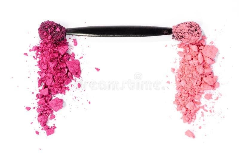 Rosa ögonskugga arkivfoton