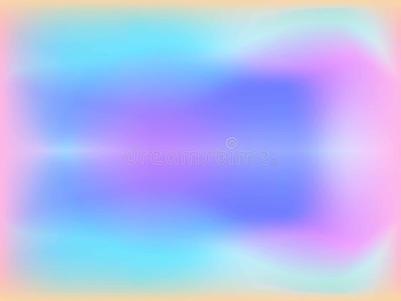 Rosa abstracto, fondo azul de la pendiente del color de la falta de definición del caramelo para el diseño gráfico Ilustraci foto de archivo libre de regalías