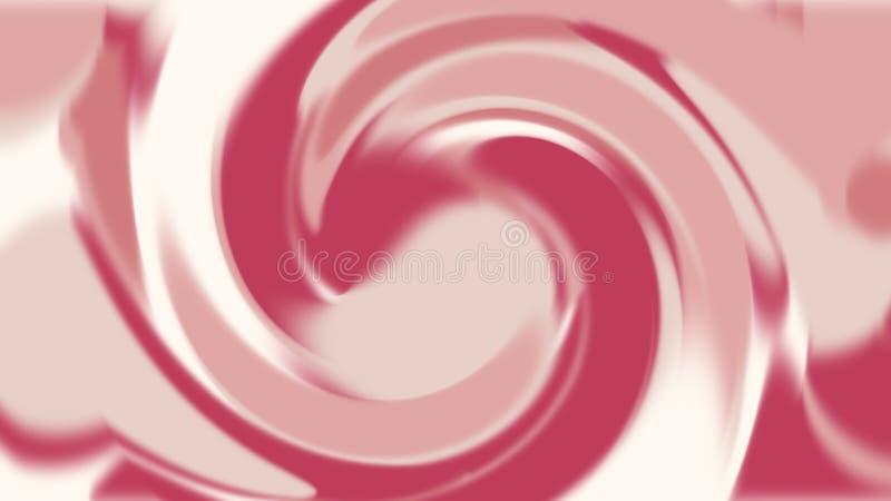 Rosa abstrato e textura líquida vermelha do movimento, bakground, sumário luxuoso, projeto e estilo do papel de parede, do delica ilustração stock