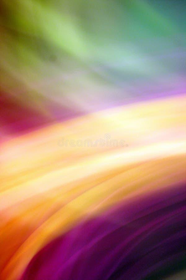 Rosa arancione porpora verde blu della bella miscela di turbinio immagini stock libere da diritti