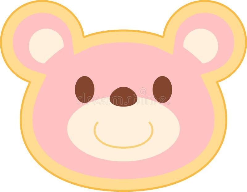 Rosa Bärnkopf stock abbildung