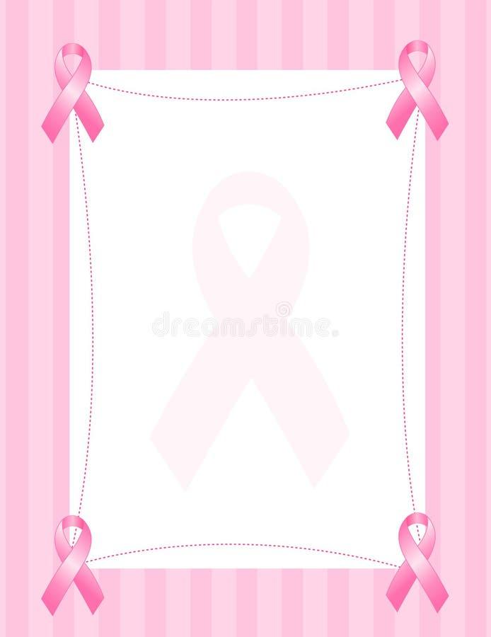 rosa band för kant vektor illustrationer