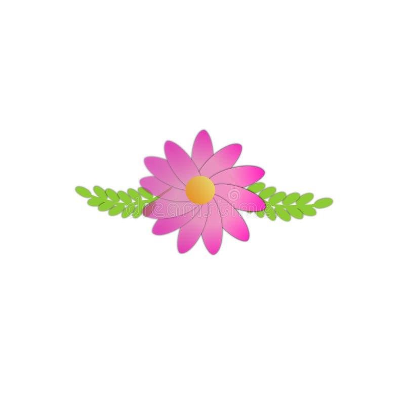 Download Rosa Blume vektor abbildung. Illustration von abbildung - 90234522