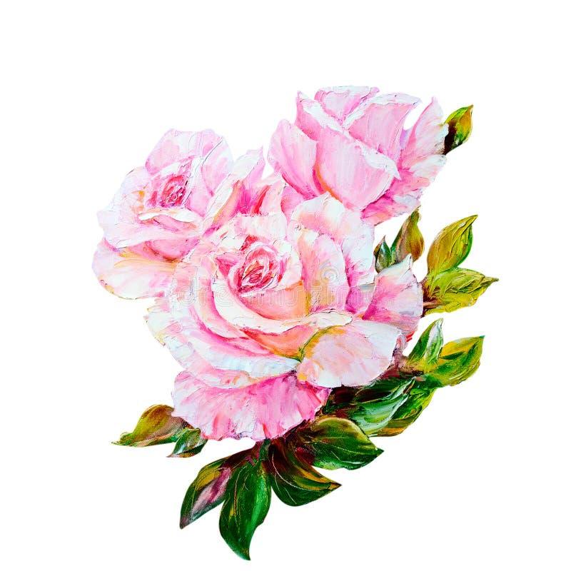 Rosa bonita ilustração royalty free