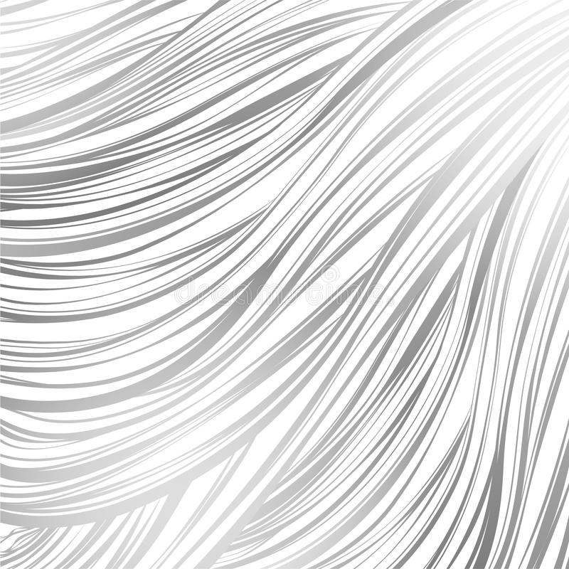 Rosa cinzento alinhado Teste padrão abstrato sem emenda arte alinhada desenhado à mão ilustração do vetor