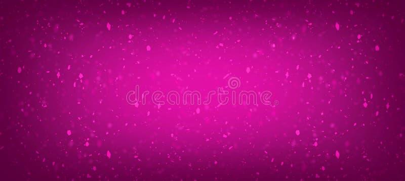 Rosa con pendiente texturizada fondo color de rosa stock de ilustración