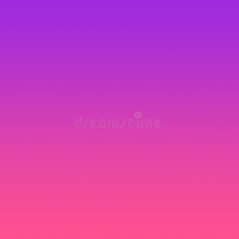 Rosa de néon ultra Violet Gradient Background ilustração royalty free
