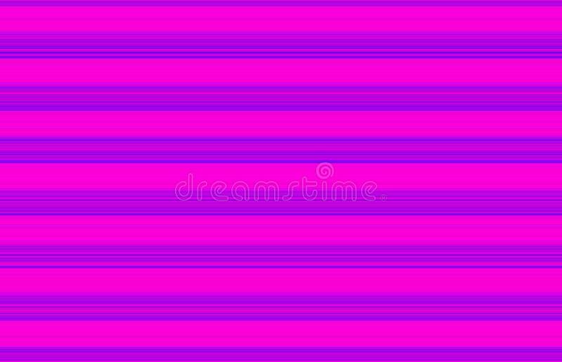 Rosa e fundo fino azul da listra ilustração do vetor