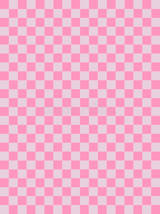 Rosa e modello a quadretti rosa grigio immagine stock