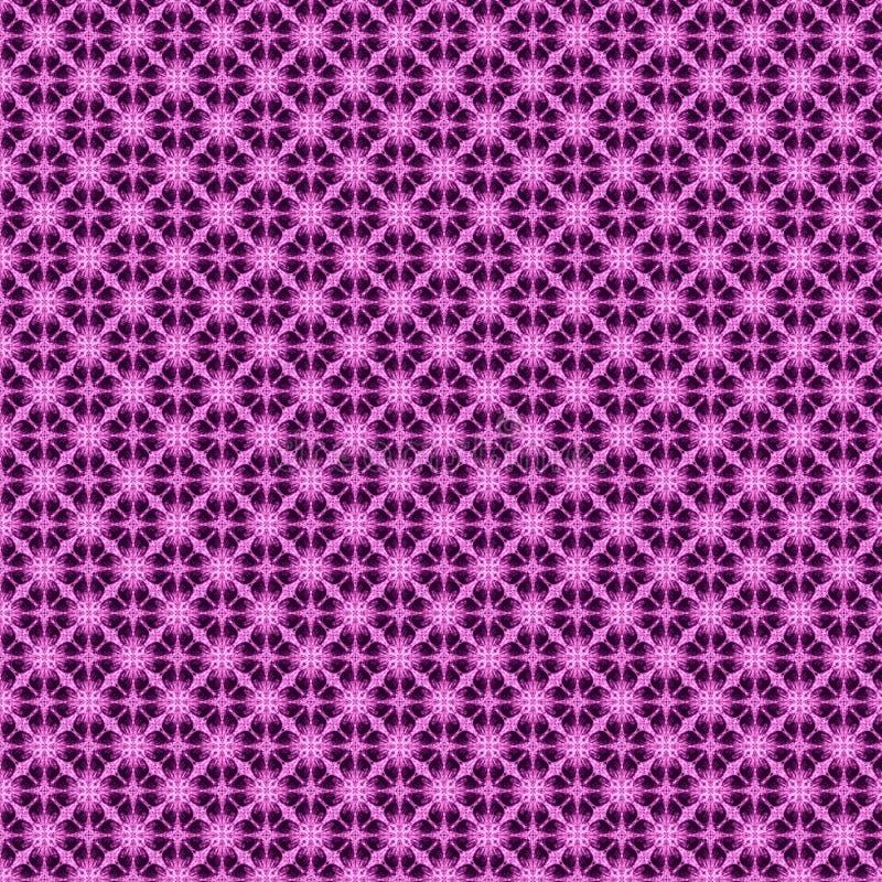 rosa ed illustrazione astratta porpora del modello illustrazione vettoriale