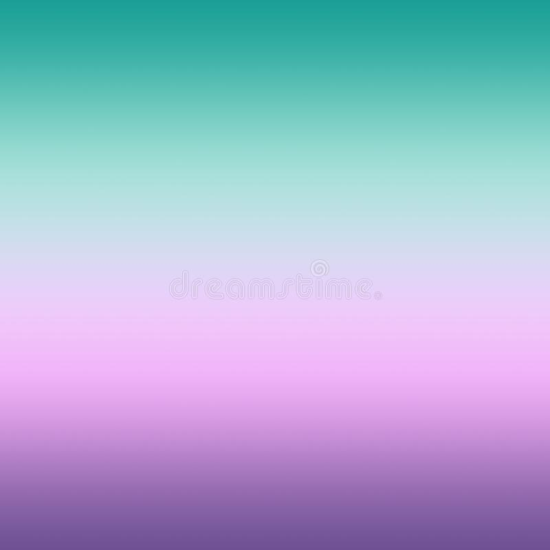 Rosa en colores pastel brillante ultra Violet Blurred Gradient Minimal Ba de la menta libre illustration