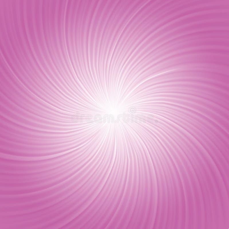 Rosa färgen rays bakgrund stock illustrationer
