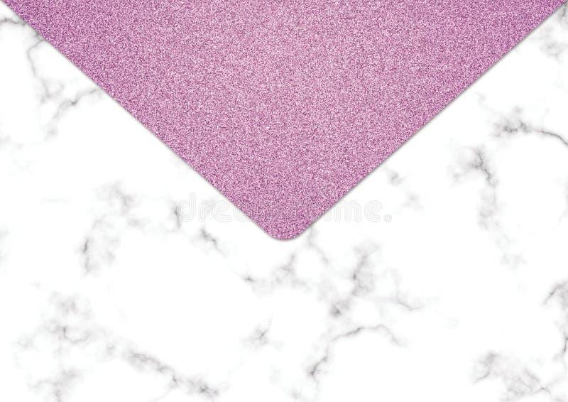 Rosa färger blänker marmorbakgrund, Shimmer blänker textur, royaltyfri fotografi