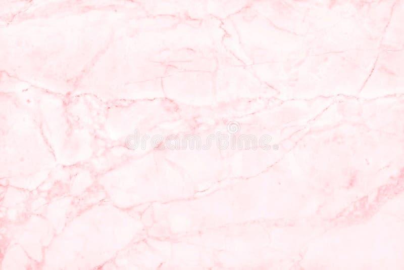 Rosa färger marmorerar texturbakgrund med lyxig hög upplösning för den detaljerade strukturen som är ljus och arkivbilder