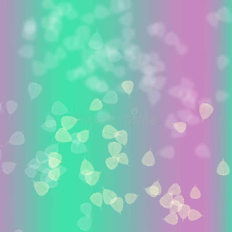 Rosa färger och gräsplan i abstrakt bakgrund vektor illustrationer