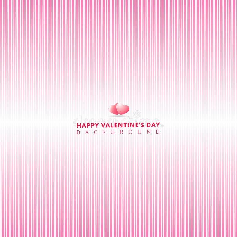 Rosa färglinje bakgrund för abstrakt lutning av vertikal straigh vektor illustrationer