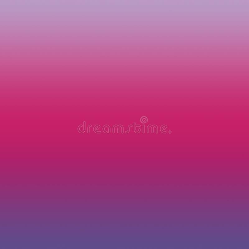 Rosa för påfågel Violet Crocus Petal Ombre Gradient ultra bakgrund vektor illustrationer