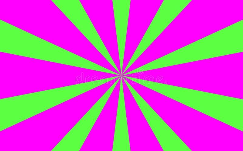 Rosa Grün strahlt Hintergrund aus lizenzfreie stockfotos