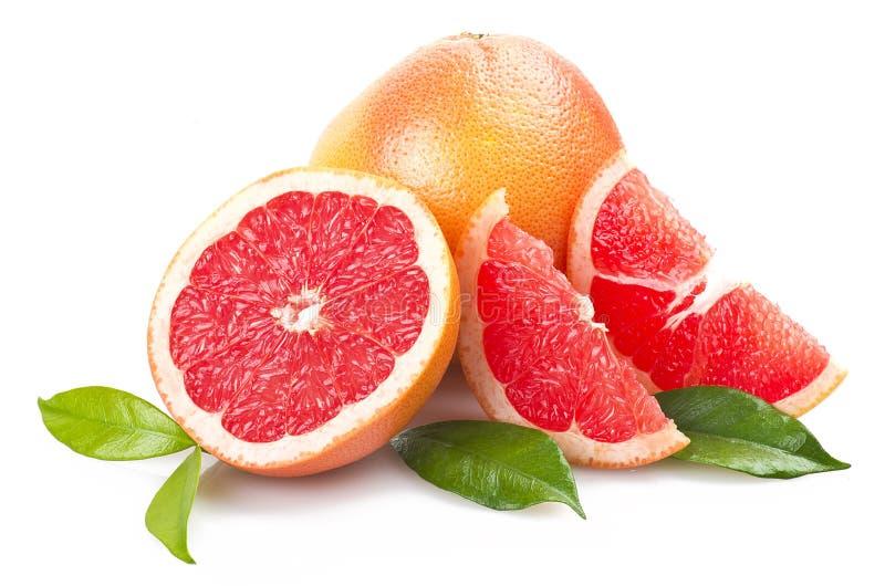 Rosa grapefrukt arkivbilder