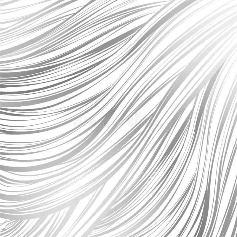 Rosa gris alineado Modelo abstracto inconsútil arte alineado a mano ilustración del vector