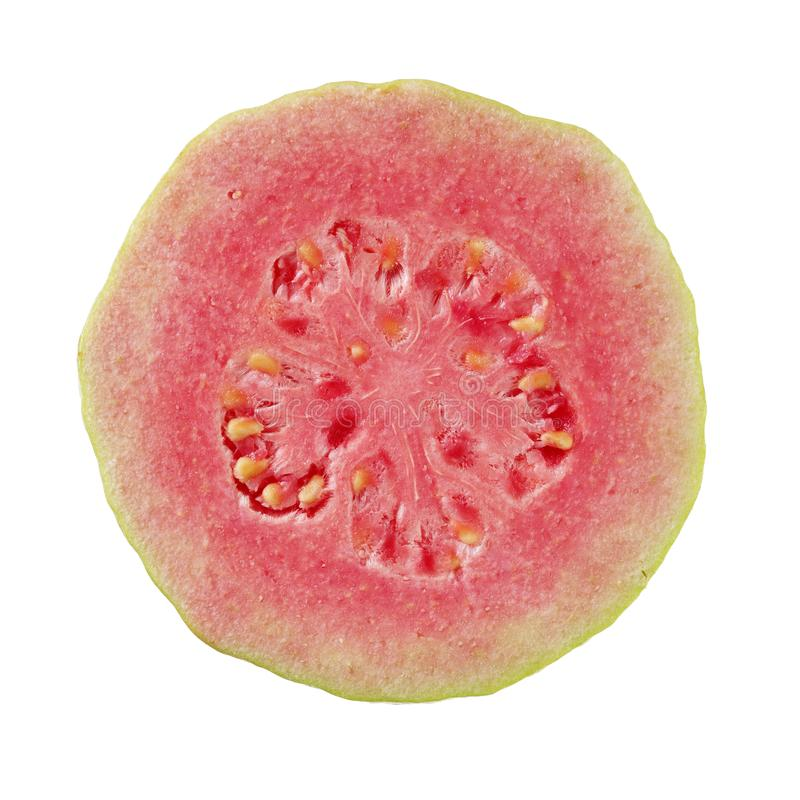 Rosa Guajava-Frucht stockfotos