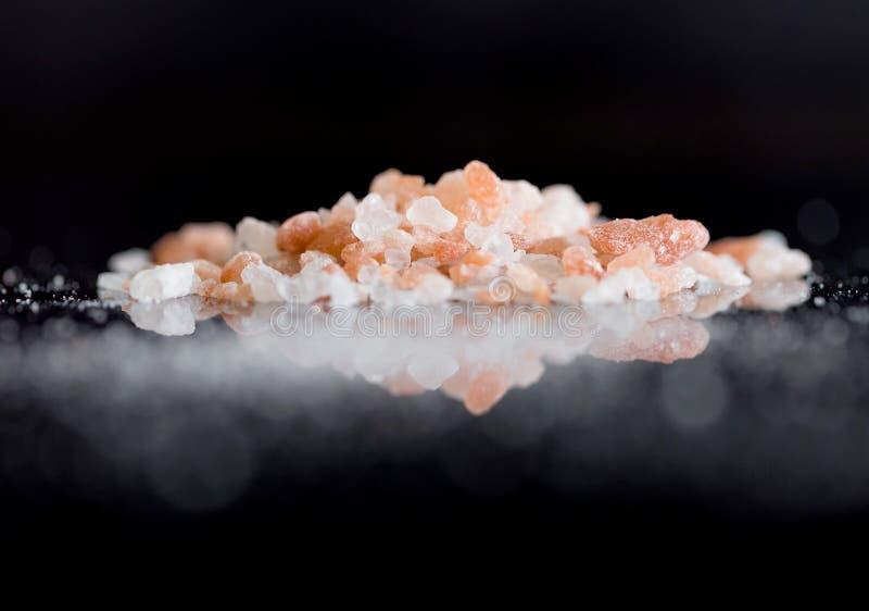 Rosa Himalayan saltar 10 arkivbild