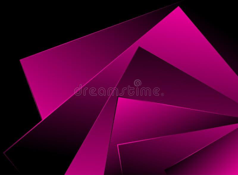 Rosa Hintergrund stock abbildung