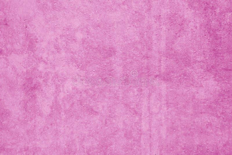Rosa Hintergrund mit konkreter Beschaffenheit stockfoto