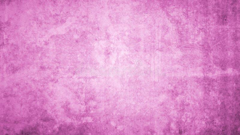 Rosa Hintergrund mit konkreter Beschaffenheit lizenzfreies stockfoto