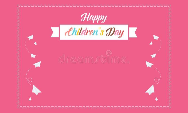 Bunter Stock Kindertag