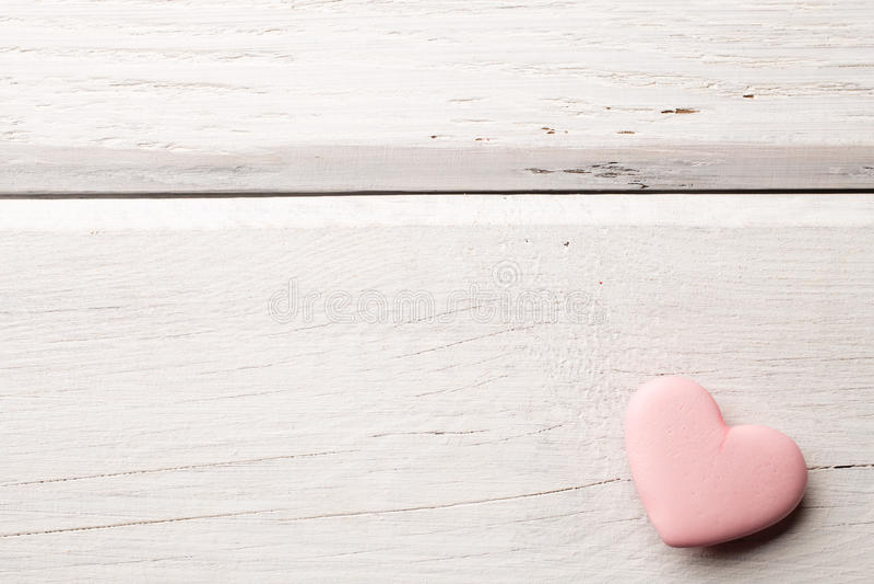 Rosa hjärta. royaltyfria foton