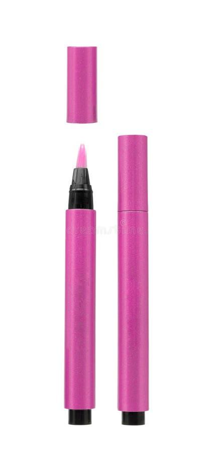 Rosa kosmetische Bleistifte lizenzfreie stockfotos