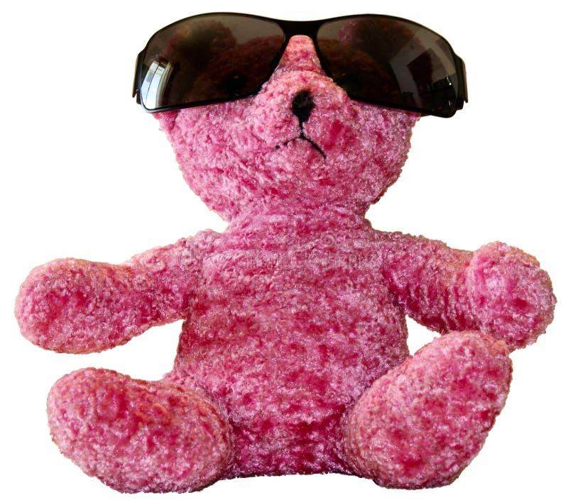rosa kupanalle för björn arkivfoto