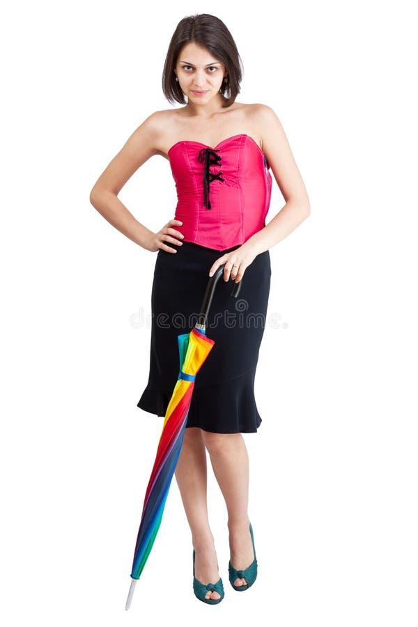 Bra bra kvalitet nya bilder av Rosa kvinna för korsett arkivfoto. Bild av kläder, affär - 24742810
