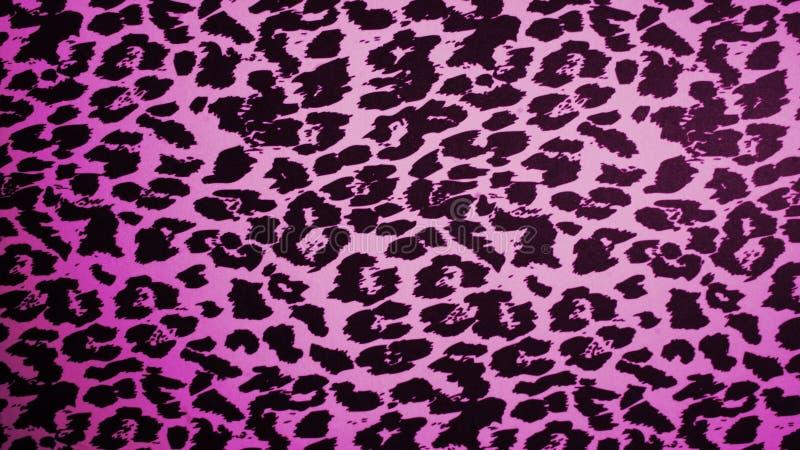 Rosa leopardtextur royaltyfria foton