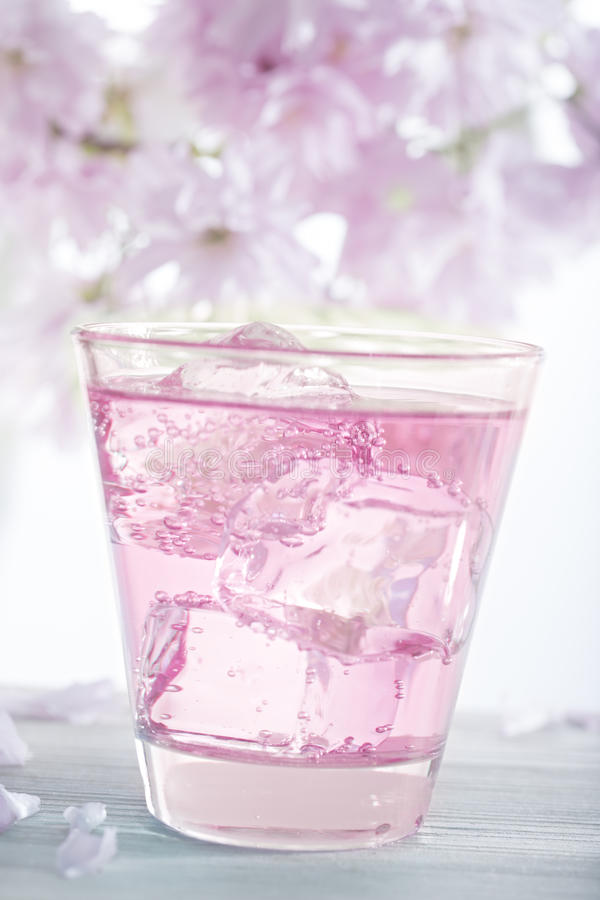 Rosa Limonade lizenzfreies stockbild