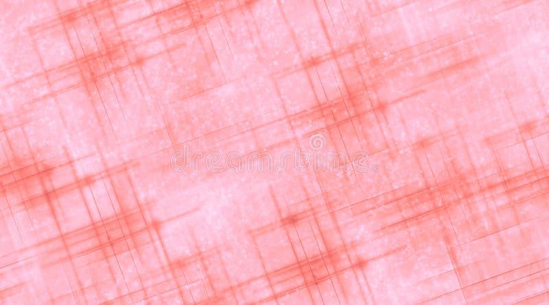 Rosa Linien und Sterne stock abbildung