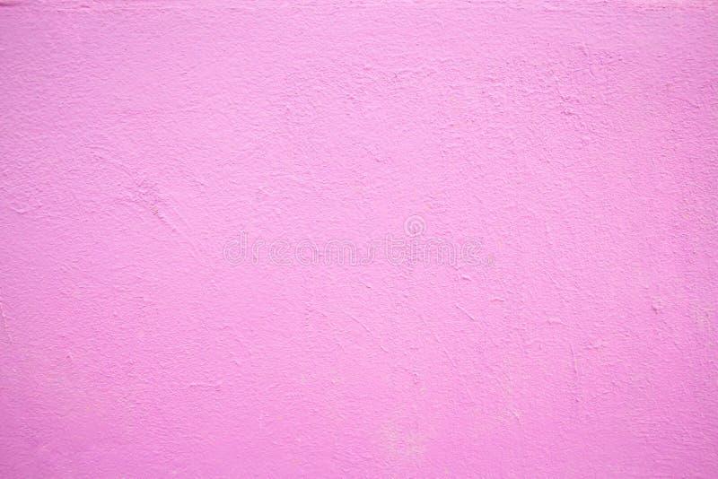 Rosa målad murbrukmodell arkivbild