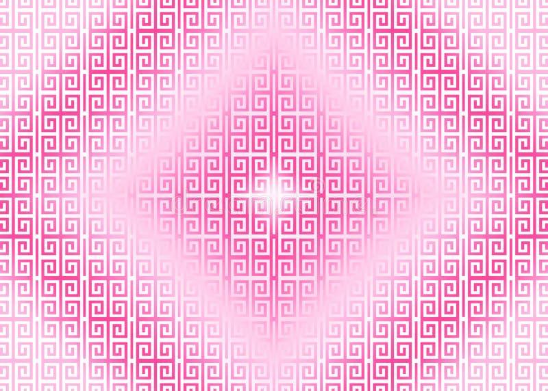 Rosa magentafärgat purpurfärgat orientaliskt dekorativt, kinesiskt, arabiskt, islamiskt, modelltexturbakgrund Imlek Ramadan, fest vektor illustrationer