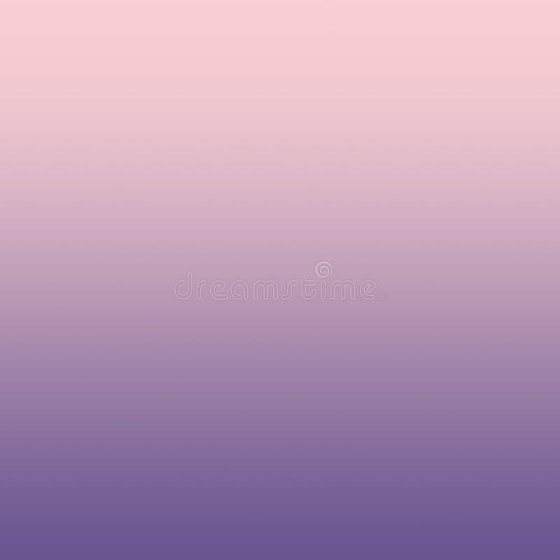 Rosa milenar pastel ultra Violet Blurred Gradient Minimal Bac ilustração royalty free