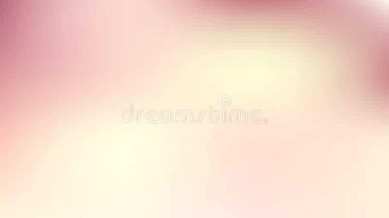 Rosa- och beige oskärpa, vektorgrafik för fotopapper stock illustrationer