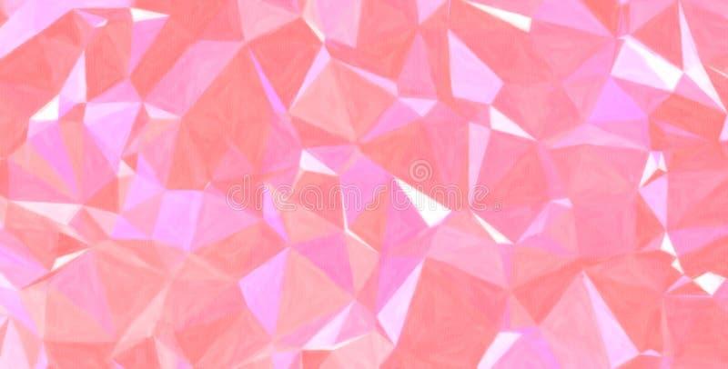 Rosa och purpurfärgad pastell med färg ökar bakgrundsillustrationen royaltyfri illustrationer