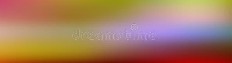Rosa púrpura en colores pastel de la pendiente amplia simple y fondo abstracto azul para el diseño de la bandera libre illustration
