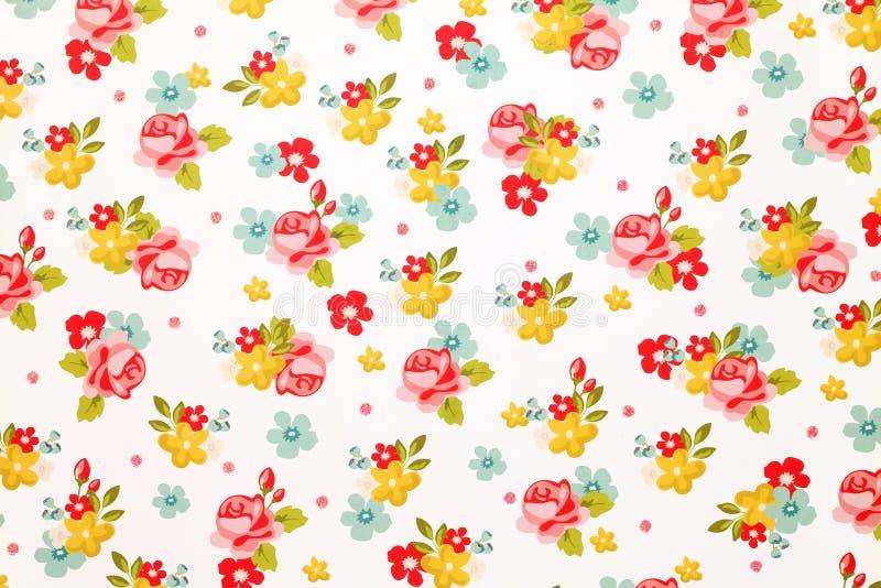 Rosa papper för blommamodell vektor illustrationer