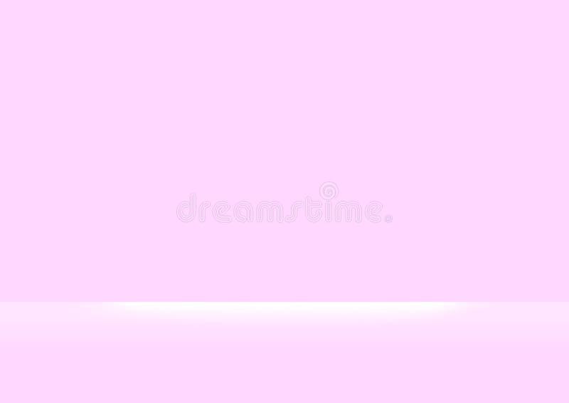 Rosa Pastellfarben weich und weißer heller Glanz für des Rosas und weißer weiche Farbsteigungstapete des Hintergrundes, rosa P stock abbildung