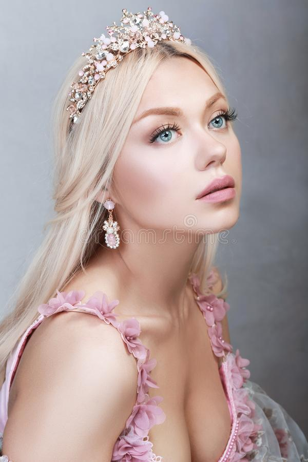 rosa princess arkivfoton