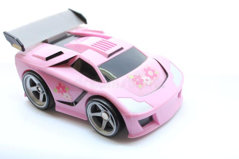 rosa race för bil royaltyfri foto