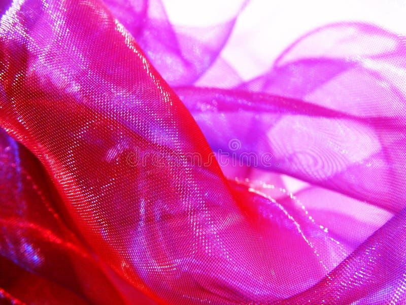 rosa silk royaltyfri bild