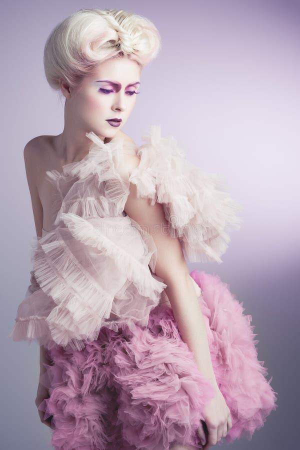 Rosa skönhet royaltyfri foto