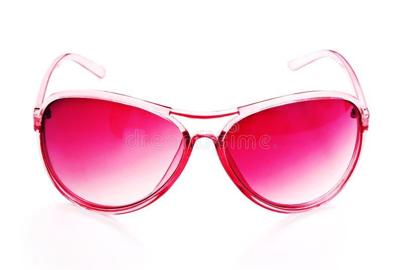 rosa solglasögon arkivbilder